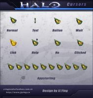 HALO Cursors by JJ-Ying