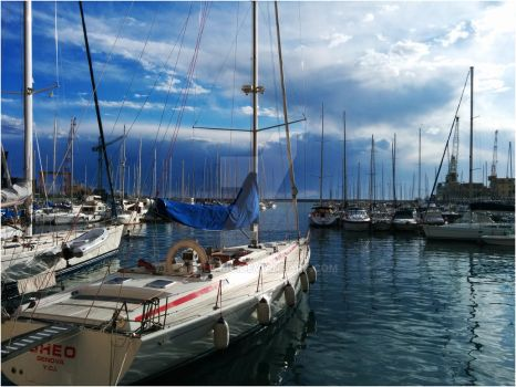 Marina Yachting Club Genova by b3lz3bu