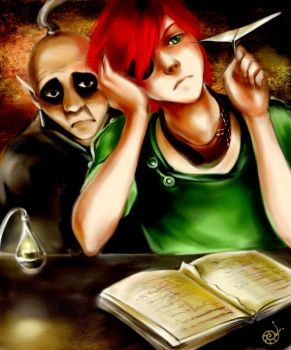 Lavi and Panda by mad-snaiL