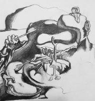 Study of Salvador Dali painting by ProfessorPicasso