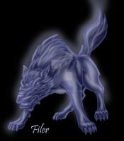 Spirit Wolf by Flyler