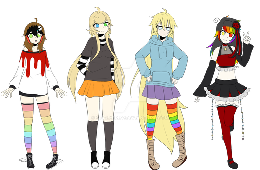 The Grim Gen clothes swap by Stalkerly