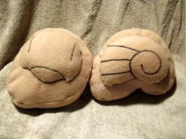 +Pokemon+ Helix and dome fossil plushies FOR SALE!