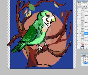 WIP-lovebird by darkligress