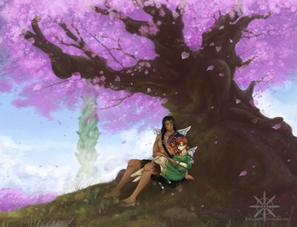 Spring: The beginning of something new by Ya-e