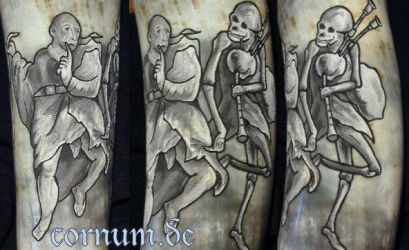 Drinking Horn Death and fool by cornum