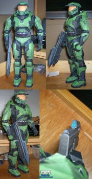 Halo Master Chief Assembled by billybob884
