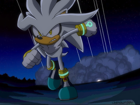 Silver in Sonic X by UnknownSpy