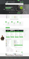 Game Hosting Web Design by vasiligfx