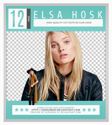 Elsa Hosk PNG Pack by Ash by 1Dhazboo