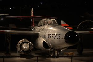 Northrop F-89 Scorpion Front View by PLutonius