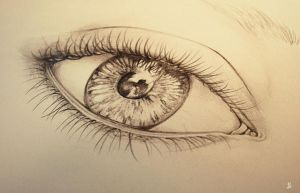 forgotten sketchbook eye by YourCottonmouth