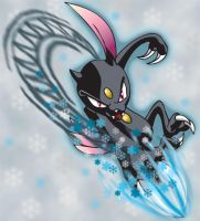 Sneasel Slash by Tibby101