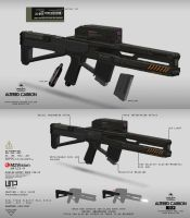 Shock Trooper Rail Gun by Carpathia2013