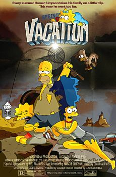 Springfield's Vacation by Claudia-R