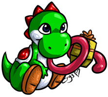 Yoshi by Crysums