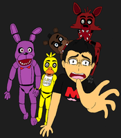Markiplier - Five Nights at Freddys by Aniloonys