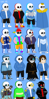 sans. AU by MLPRainbow10