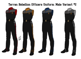 Terran Rebellion Officers Uniform Variant 2 Male by docwinter