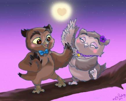 Happy Owlaversary by LAUBoZ