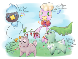 PKMNation - PeeWeexFinnely clutch - CLOSED by Ashurst