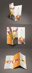 Bestaste Food Menu Trifold Brochure by Saptarang