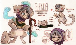 Glenda Ref. Sheet [CM] by Baraayas