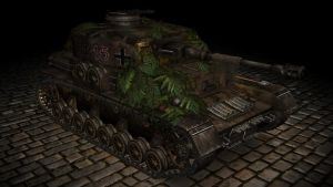 Panzer IV German Tank by Hercool