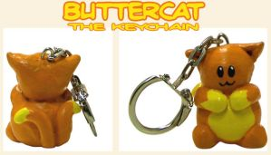Buttercat Keychain by GlowingMember
