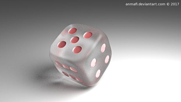 -Glass Dice- by anmafi