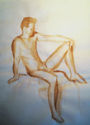 Male nude 1 by Alicecab