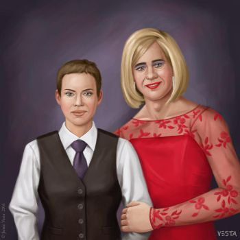 Formal couple by Eves-Rib