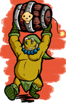Goron Link by VHSzombie