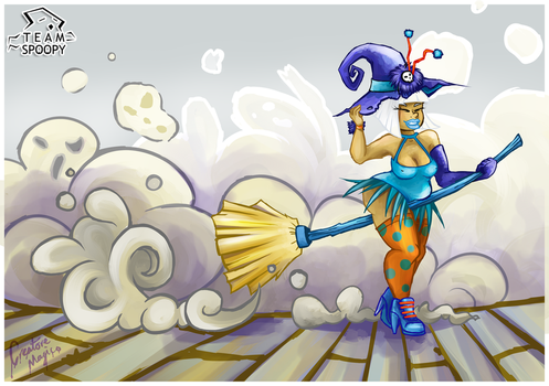 Sweep that Spoop by CreatoreMagico