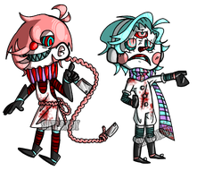 [OTA ADOPT] Cold Cut Clowns [Closed] by SHEEP-DADDY