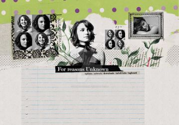 Natalie Portman Layout by demolitionn