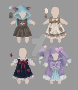 doll clothing designs by ukenni