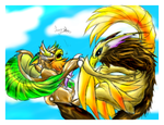 -_Aerial Battle Of The Skies_- by Eternalskyy