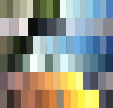 Sky-inspired Palettes F2u by yikz-adopts