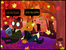 Night in the Woods: Gregg X Angus by Clairbanthedoll
