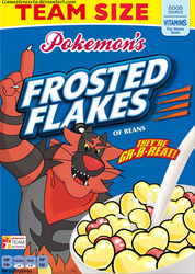 Alolan Cereal #4: Tony the Incineroar by GAmesterAxela
