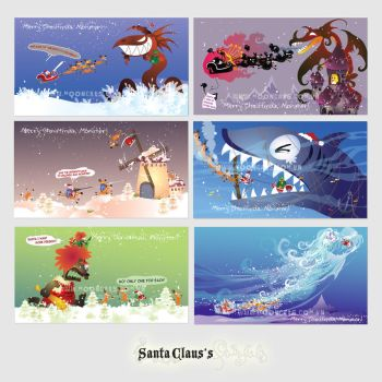 Santa's fairytales by Tung-Monster