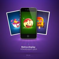 Retina display HDwallpapers by dimpoart