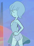 Steven Universe - Blue Pearl 06 by theEyZmaster