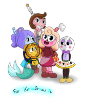 For KarlaDraws14-Fan Childs by Nikytale