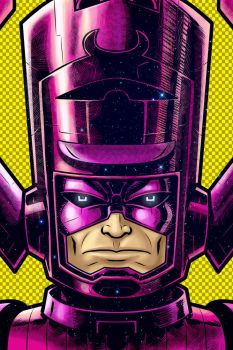 Galactus Portrait Shot Commission from C2E2 by Thuddleston