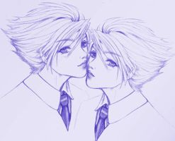 Ouran Twins by C4mi