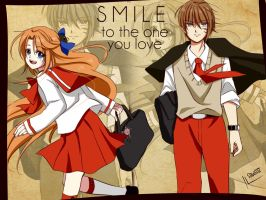 SMILE to the one you love by StillDollSawaii