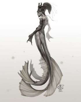 Merman by Vincent-Covielloart