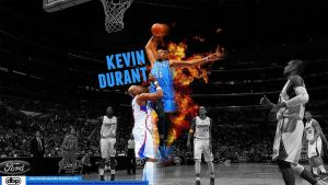 Kevin Durant Dunks on Lamar Odom by danielboveportillo